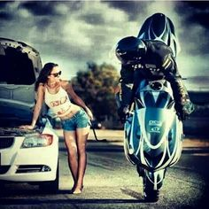 """#Motorcyclestunts #motorcycle #stunts #weeling #bike #ride #king #rides  #hotgirls #bike #ride #killthestreet #bikelife #crazy #monster #girls #stunts…"""