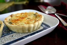 Eggless Spinach, Cheese and Paneer Quiche   Spice your Life
