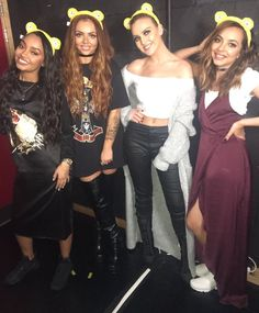 """littlemixqueenews: """"@LittleMix Show your support and get your ears on for @BBCCiN!  The girls are performing on Friday  … don't forget to tune in. #CiN LM HQ x """""""