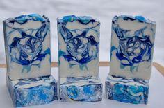 Clean Cotton cold process soap. Lakehurst Farms