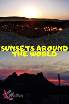 It's time to make your day a little bit brighter by joining a tour of sunsets around the world. #sunsets #aroundtheworld #budgettravel #budget #travel