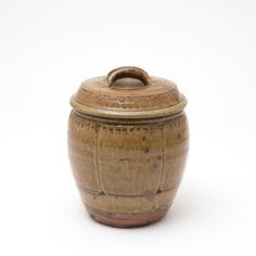 Mike Dodd Handled Store Jar