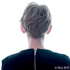 岡山 桃子さんのヘアカタログ | ベリーショート,クールモード,メンズライク,ジェンダーフリー,ブラック | 2016.02.25 14.32 - HAIR