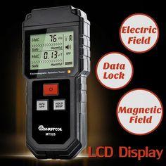 5G 4G EMF Field Meter Detector RF Radiation 3-in-1 Micro Wave Electric Magnetic