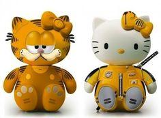 Hello Garfield and Hello Kill Bill