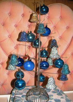 Vintage 1960's Christmas Tree Bulbs & Bells by TheIDconnection, $45.00  Vintage 1960's Christmas Tree Bulbs & Bells http://TheIDconnection.etsy.com  retro 60's X-Mas Decorations Holiday http://etsy.me/p04awa via @Etsy