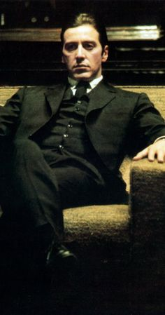 Still of Al Pacino in The Godfather: Part II (1974)
