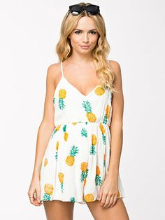 the pina colada playsuit Pina Colada, Playsuit, Jumpsuits, Rompers, Clothes, Dresses, Fashion, Overalls, Overalls