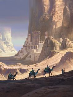 Town Cliff Mesa Desert caravan sw (2k)