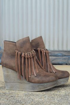 Zepp Wedge by Sbicca {Tan} from Shoe Craze. Saved to shoes. Shop more products from Shoe Craze on Wanelo.