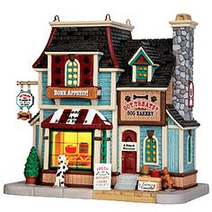 Coventry Cove by Lemax  Christmas Village Building, Got Treats? Dog Bakery --- I need to get this ASAP