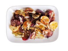 Roasted Onions with Lemon