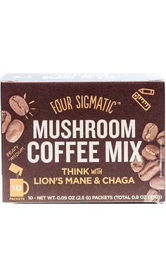 Four Sigma Foods Mushroom Coffee, 10 Count Best Price
