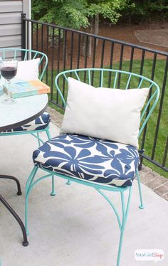 Nice How To Make Chair Cushions | Easy Diy Projects, Outdoor Spaces And Patio  Makeover