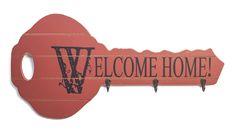 Κρεμάστρα Κλειδί Home, Ad Home, Homes, Haus, Houses