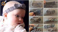 Bebek Örgü Saç Bandı Yapımı Anlatımlı - Kolay Bebek Saç Bandı Yapımı
