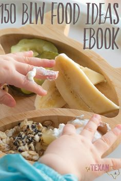Baby Led Weaning has been one of the greatest blessings for our family, but it has so many misconceptions attached to it. For all the frequently asked questions and how to's of Baby Led Weaning, check out this post! Plus, an ebook with 150 ideas to start your journey off right! #BabyLedWeaning #BLW #crunchymom #parenting