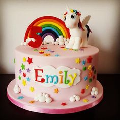 My little Pony unicorn - Cake by Essiescakes