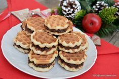 Waffles, Deserts, Sweets, Cookies, Breakfast, Food, Candies, Bakken, Crack Crackers