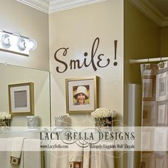 images about Bathroom Decals on Pinterest Vinyl
