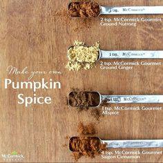 Homemade Pumpkin Spice