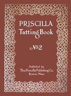 Priscilla Tatting libro 2 c.1915  cambio de los por ivarose en Etsy