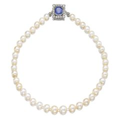 PROPERTY OF HIS HIGHNESS EDUARD OF ANHALT, DUKE OF SAXONY 'THE PEARLS OF THE HOUSE OF ORANGE', A NATURAL PEARL, SAPPHIRE AND DIAMOND NECKLACE, 17TH CENTURY AND LATER | Sotheby's