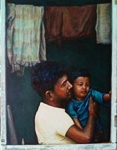 'Daycare' Acrylic on Canvas 227 x 302 x Paintings, Canvas, Artwork, Artist, Tela, Work Of Art, Painting Art, Painting, Paint