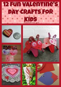 12 Fun Valentine's Day Craft and Fun Ideas For Kids