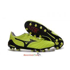 14c477ee6 Buy New Mizuno NEO II FG soccer cleats yellow black size39 45 from Mizuno  at soccercleats77