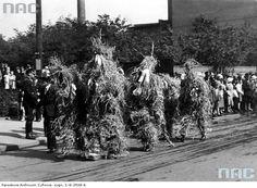 Katowice, harvest festival, 1934.