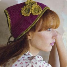 1000+ images about head scarf crochet kerchief on ...