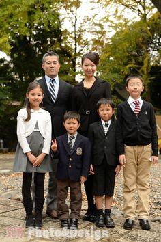 七五三のご家族写真