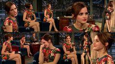 Emma Watson Jimmy Fallon