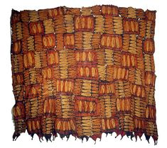 Africa | Ceremonial cloth from the Dida people of the Ivory Coast | © Tim Hamill