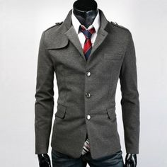 Slim Fit Blazer Jacket - Sneak Outfitters