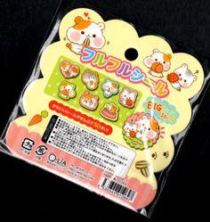 Q-lia-Hamu-Hamu-Time-Hamster-Kawaii-Stickers-Sack-sticker-flakes-seals
