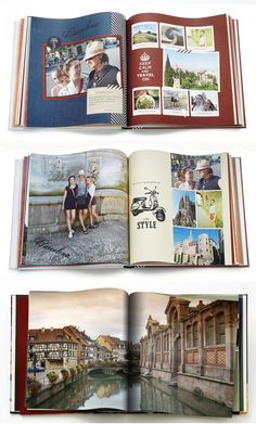 Capture the memories of your European adventures. Keep track of your vacation destinations in a personalized photo book.  | Shutterfly