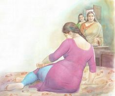 Indian hot shot bold b grade sex porn video Indian Women Painting, Indian Art Paintings, Ravivarma Paintings, Sexy Painting, Woman Painting, Indian Drawing, Hindi Comics, Tamil Comics, Psy Art