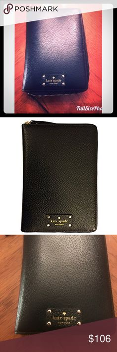 NWT 👑 Kate Spade Wellesley Leather Planner/Wallet 👑Brand new Kate spade planner with tons of compartments and other features. It does not contain 2018-2019 planner pages, but contains restaurants, addresses, todo lists, and others as shown. Brand new, flawless. Ships USPS priority to the United States 🇺🇸💓 willing to negotiate kate spade Bags Wallets