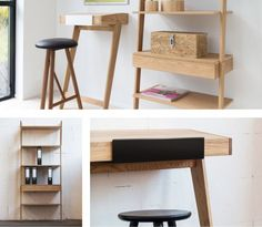 WhyWood Bar Stool, available from Hunter Furniture.