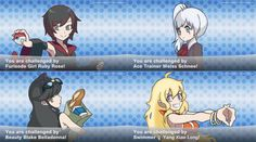 RWBY Pokemon Trainers by depression76 on DeviantArt