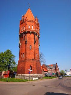 water tower  Malbork, Poland