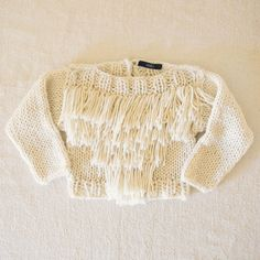 // Baby Fringe Sweater