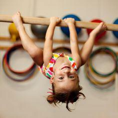 upside down gymnast