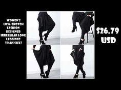 Women's Fashion Designer Clothes Women's Leggings, Leggings Are Not Pants, Designer Leggings, Women's Fashion, Fashion Outfits, Fashion Design, Harem Pants, Rompers, Plus Size