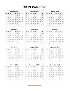 School Year Calendar 2019-2016 217 Best Monthly Calendar images in 2019 | February, Monthly