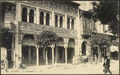Algiers: The Alhambra (GRI)  Postcard of Algiers, early 20th century