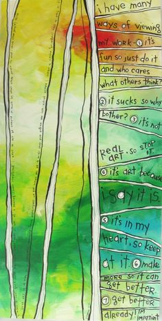 Drawn From the Fire, Belinda Fireman  Things artists think.