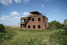 RAF Coleby Grange near Lincoln was a fighter base during World War Two, with an abandoned control tower that still stands today. Abandoned Buildings, Abandoned Places, Air Traffic Control, Hunting Cabin, Secret Places, Places Of Interest, Filming Locations, War Machine, World War Two